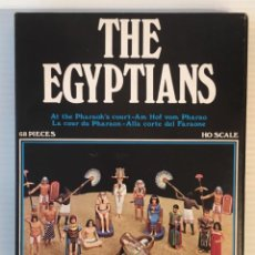 Maquetas: ATLANTIC. THE EGYPTIANS. AT THE PHARAONS COURT. H0. 1501. PINTADOS.. Lote 189173550