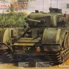 Maquetas: AFV.1/35 TANQUE CHURCHILL MK VI (WORDNANCE QF 75 MM.) (Y). Lote 189216312