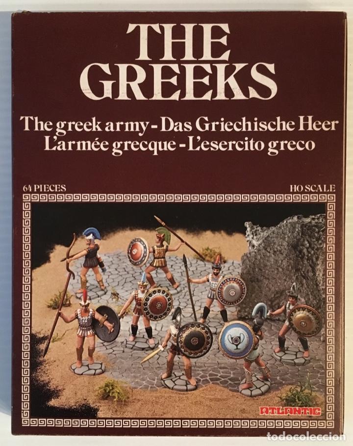 ATLANTIC. THE GREEKS ARMY. THE H0. 1509 (Juguetes - Modelismo y Radiocontrol - Maquetas - Militar)