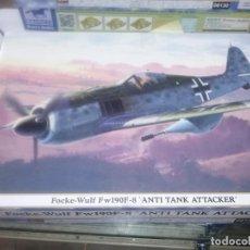 Maquetas: HASEGAWA 08130 FOCKE-WULF FW190F-8 'ANTI TANK ATTACKER'. Lote 189355931