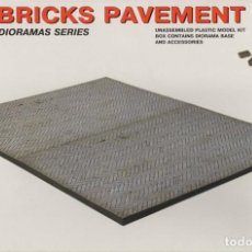 Maquetas: BRICKS PAVEMENT. MINIART DIORAMA SERIES. 1/35. REF. 36048. Lote 189428535