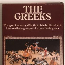 Maquetas: ATLANTIC. THE GREEKS. THE GREEK CAVALRY. H0. 1510. PINTADOS.. Lote 189499407