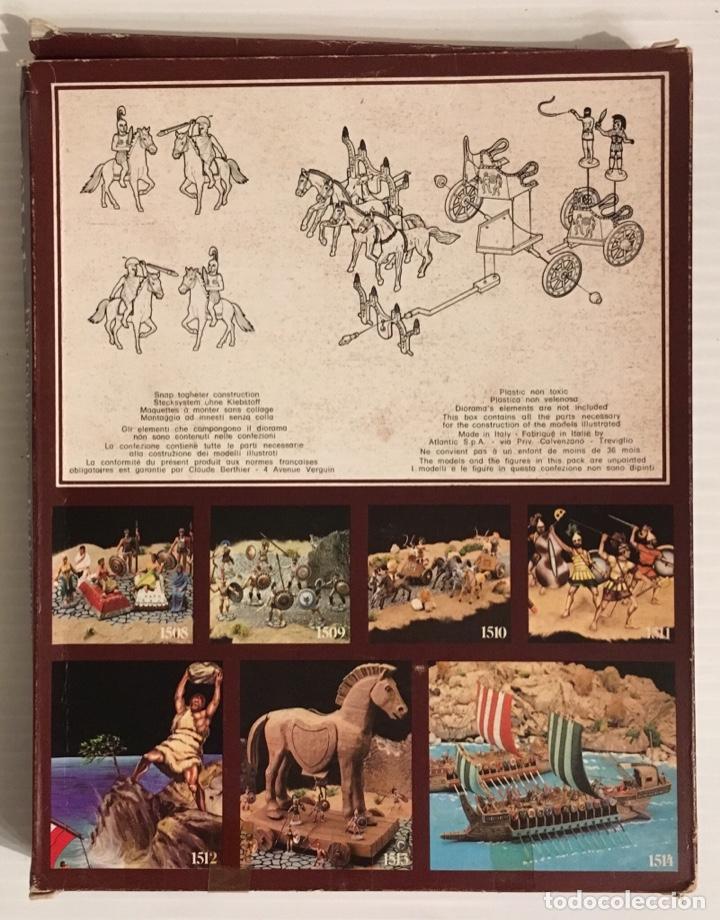 Maquetas: ATLANTIC. THE GREEKS. THE GREEK CAVALRY. H0. 1510. PINTADOS. - Foto 3 - 189499407