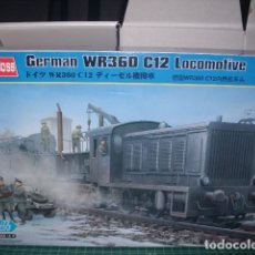 Maquetas: GERMAN WR360 C12 LOCOMOTIVE 1/72 HOBBYBOSS. Lote 189556301