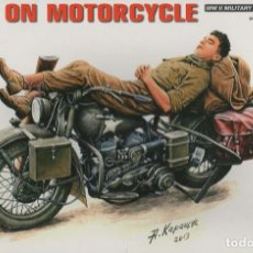 Maquetas: REST ON MOTORCYCLE. MINIART. 1/35. REF. 35176. Lote 189653455
