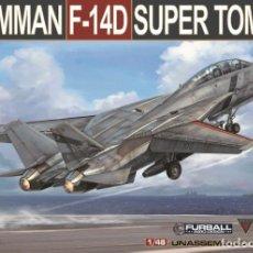 Maquetas: PACK AMK F-14 # 1:48 GRUMMAN F-14D TOMCAT. Lote 189667518