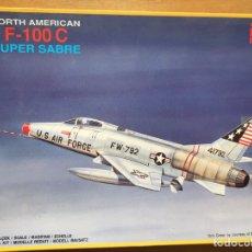 Maquetas: F-100C SÚPER SABRÉ 1:72 PM MODEL PM-302 MAQUETA AVIÓN. Lote 189906512