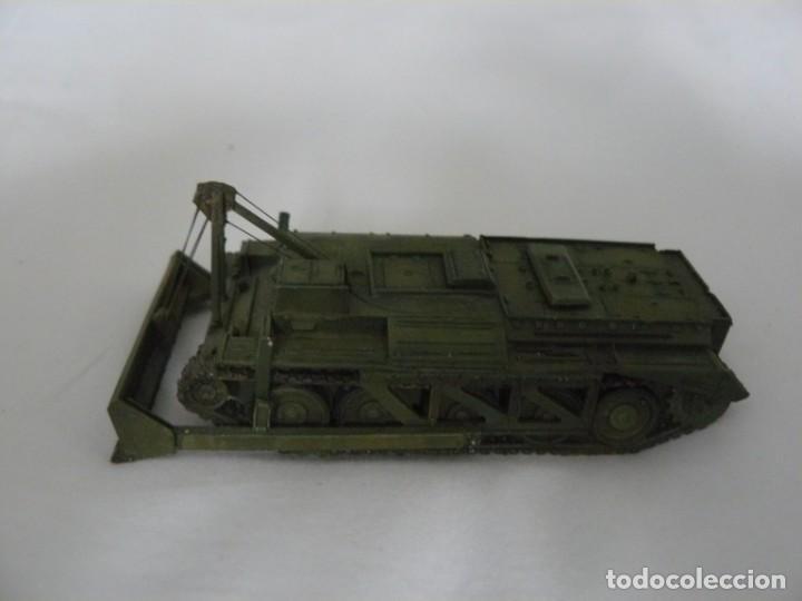 20MM O 1/72 TANQUE BRITÁNICO CROMWELL CON PALA EXCAVADORA DE LA II GUERRRA MUNDIAL PINTADO (Juguetes - Modelismo y Radiocontrol - Maquetas - Militar)
