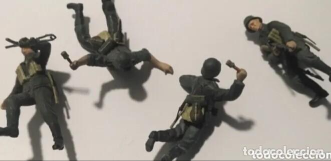 Maquetas: Lote Soldados Alemanes Wehrmacht 1/35 montados y pintados con detalles - Foto 2 - 190006585