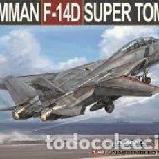 Maquetas: MAQUETA 1/48 - GRUMMAN F-14D SUPER TOMCAT AMK AVANTGARDE MODEL KITS - NO. 88007 - 1:48. Lote 190077827