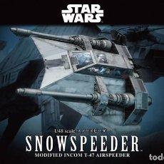 Macchiette: BANDAI 1:48 STAR WARS SNOWSPEEDER. Lote 190177027