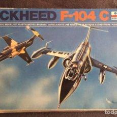Maquetas: F-104C 1:72 ESCI 9011 MAQUETA AVIÓN. Lote 190216976
