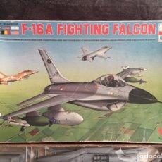 Maquetas: F-16A FIGHTING FALCÓN 1:72 ESCI MAQUETA AVION. Lote 190507667