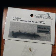 Maquetas: LION MARK MODEL - MACHINE GUN BARRELS 3 PIEZAS 1/35 10041. Lote 190642345