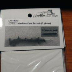 Macchiette: LION MARK MODEL - MACHINE GUN BARRELS 3 PIEZAS 1/35 10041. Lote 190642348