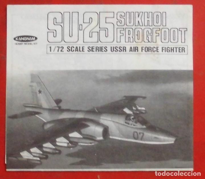 INSTRUCCIONES DE MONTAJE DEL SUKHOI SU-25 DE KANGNAM ESCALA 1/72 (Juguetes - Modelismo y Radio Control - Maquetas - Aviones y Helicópteros)