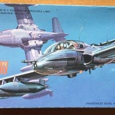 Maquetas: A-37 A/B DRAGONFLY 1:72 HASEGAWA MAQUETA AVIÓN. Lote 191260447