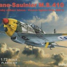 Maquetas: MORANE-SAULNIER M.S. 410. RS 1/72. REF. 92195. Lote 191519487