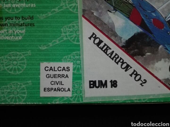 Maquetas: -POLIKARPOV PO-2- BUM 1/72 CALCAS GUERRA CIVIL ESPAÑOLA RARO - Foto 10 - 191628428