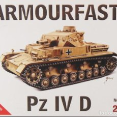 Maquetas: MAQUETA CARRO PANZER IV D, REF. 99028, 1/72, ARMOURFAST. Lote 191742983