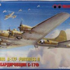 Maquetas: MAQUETA AVIÓN BOEING B-17 F, FORTRESS II, REF. MQ-7230, 1/72, MAQUETTE. Lote 191744321