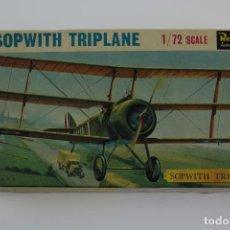 Maquetas: REVELL AUTHENTIC KITS. SOPWITH TRIPLANE. 1/72 SCALE. . Lote 191775868