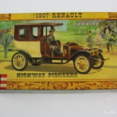 Maquetas: REVELL, FUN TO ASSEMBLE PLASTIC KIT. 1907 RENAULT . HIGHWAY PIONEERS. . Lote 191776020