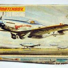 Maquetas: MASQUETA DEL CAZA NORTEAMERICANO NORTH AMERICAN P-51D MUSTANG DE A 1/72 (VINTAGE, CAJA Y CALCAS MAL). Lote 191781066