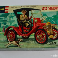 Maquetas: REVELL 1910 MAXWELL. GIANT SCALE 3/4=1. AÑOS 60.. Lote 191789152