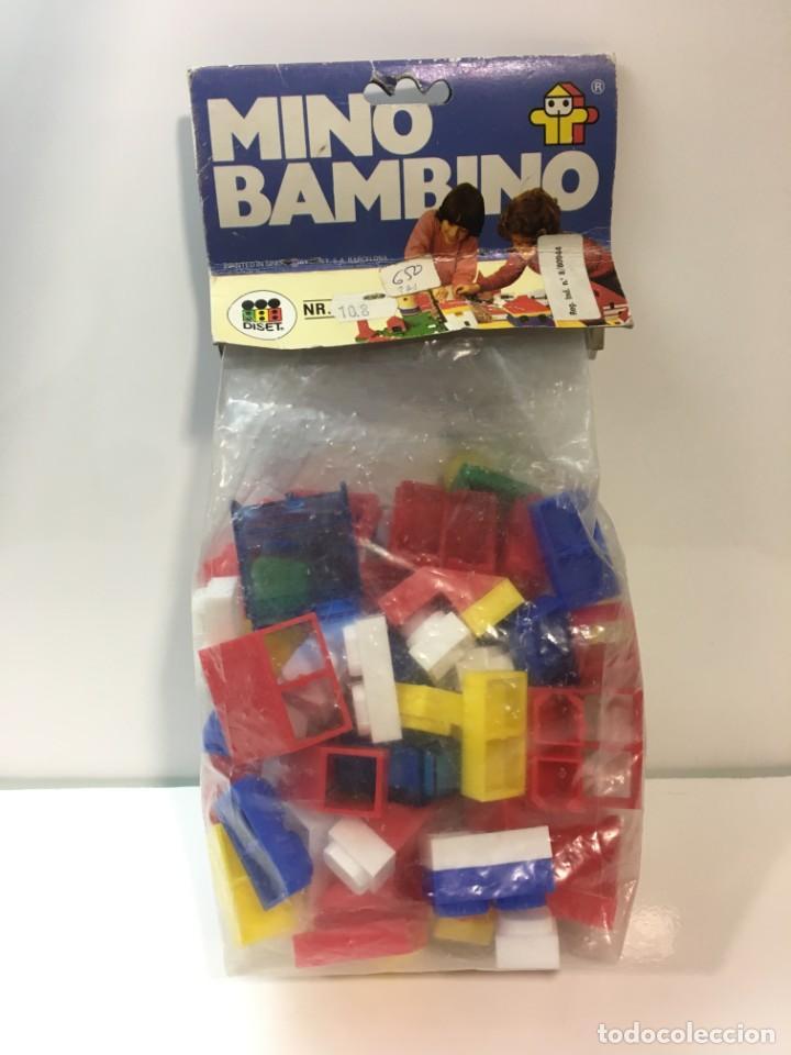BLOQUES PLASTICO MINI BAMBINO CONSTRUIR, LEGO, CUBOS (Juguetes - Modelismo y Radiocontrol - Maquetas - Construcciones)