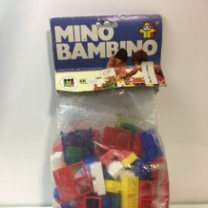 Maquetas: BLOQUES PLASTICO MINI BAMBINO CONSTRUIR, LEGO, CUBOS. Lote 191845503