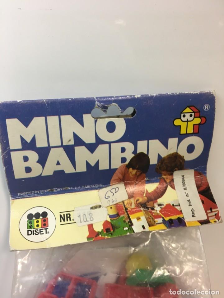 Maquetas: Bloques plastico Mini Bambino construir, lego, cubos - Foto 2 - 191845503