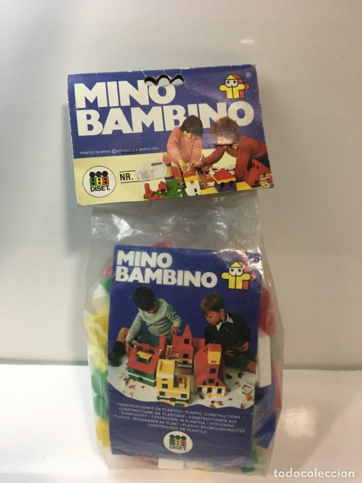 Maquetas: Bloques plastico Mini Bambino construir, lego, cubos - Foto 3 - 191845503