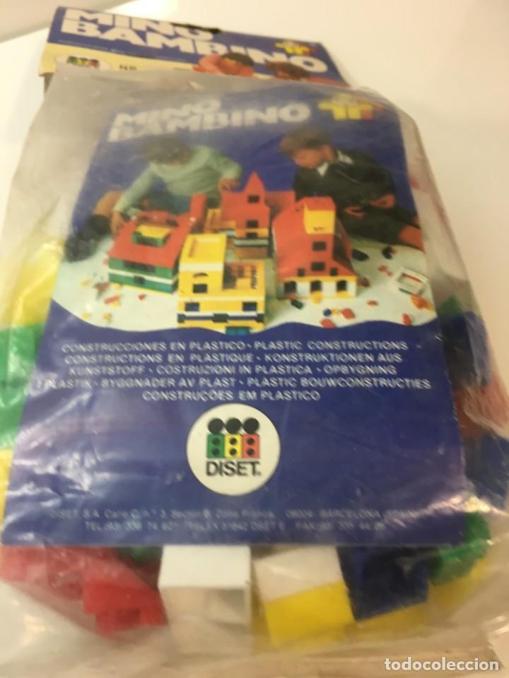 Maquetas: Bloques plastico Mini Bambino construir, lego, cubos - Foto 4 - 191845503