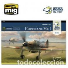Maquetas: ARMA HOBBY - HURRICANE MK I EXPERT SET 1/72 70019 INCLUIDOS FOTOGRABADOS Y MASCARAS . Lote 192024691