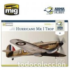 Maquetas: ARMA HOBBY - HURRICANE MK I TROP 1/72 70021. Lote 192024721
