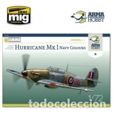 Maquetas: ARMA HOBBY - HURRICANE MK I NAVY COLOURS 1/72 70022. Lote 192024758