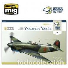 Maquetas: ARMA HOBBY - YAKOVLEV YAK-1B 1/72 70028. Lote 192024770
