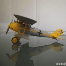 Maquetas: PFALZ D.III HANS KLEIN JASTA 10 1917 1/72 MAQUETA MONTADA Y PINTADA. Lote 192038826