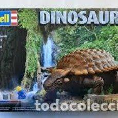 Maquettes: REVELL - DINOSAURUS ANKYLOSAURUS 1/13 06477. Lote 192103851
