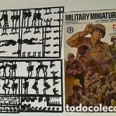 Maquetas: CAJA DE SOLDADOS AMERICANOS 1/35 U.S. COMBAT GROUP. Lote 192104466