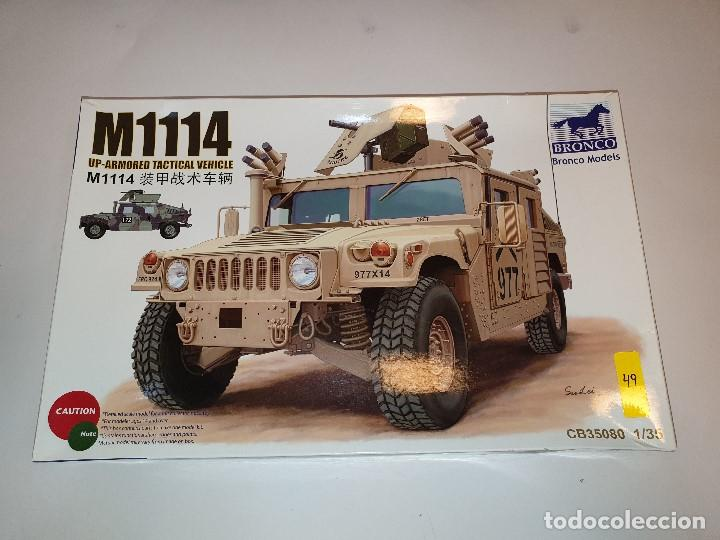 BRONCO M1114 UP-ARMORED TACTICAL VEHICLE CARRO COMBATE PLÁSTICO ESCALA 1:35 (Juguetes - Modelismo y Radiocontrol - Maquetas - Militar)