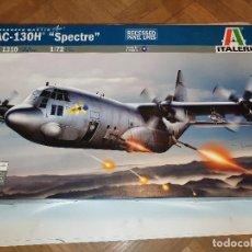 Maquettes: ITALERI AC-130H SPECTRE AVIÓN PLÁSTICO ESCALA 1:72. Lote 192573730