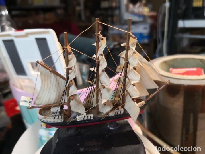 Maquetas: Maqueta barco Seeadler,1916- 11ctmos aproximadamente - Foto 2 - 192755986