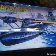 Maquetas: AVIONETA CONSOLIDATED 1/72 ESCALE 1993 ACADEMY HOBBY MODEL KITS PBY 2 CATALINA. Lote 192895366