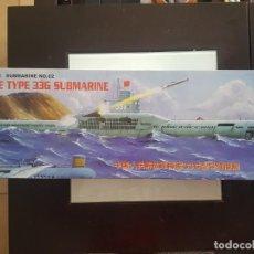 Maquettes: TRUMPETER SUBMARINO 1/144 CHINO TIPO 33G. Lote 192978062