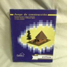 Maquetas: PALLOZA JUEGO DE CONSTRUCCIÓN. MAQUETA A ESCALA. A ESTRENAR. Lote 192981613