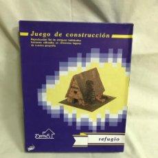 Maquetas: REFUGIO JUEGO DE CONSTRUCCIÓN. MAQUETA A ESCALA. A ESTRENAR. Lote 192981715