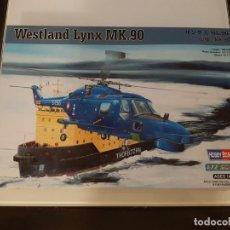 Maquetas: MAQUETA HOBBY BOSS HELICOPTERO 1/72 WESTLAND LYNX MK.90. Lote 193166717
