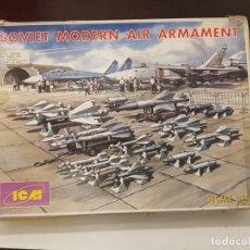 Maquetas: MAQUETA AVION ICM 1/72 SOVIET MODERN AIR ARMAMENT. Lote 193181550